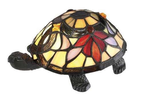 Patriot Lighting 174 3 1 2 Quot Tiffany Style Turtle Accent Lamp