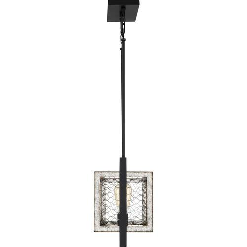 Patriot Lighting Elegant Home Bastein Black 4 Light Island