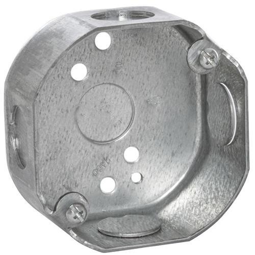 Raco 3 1 2 Galvanized Steel Octagon Electrical Box At Menards