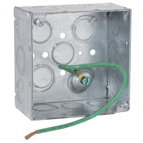 Pleasing Raco 4 Galvanized Steel Square Electrical Box At Menards Wiring Cloud Nuvitbieswglorg