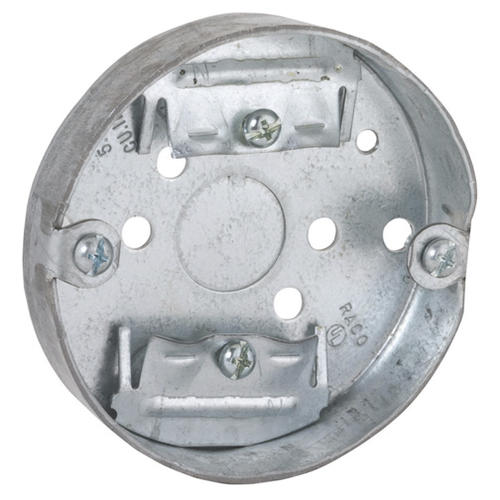Raco 3 1 2 Steel Round Electrical Box At Menards