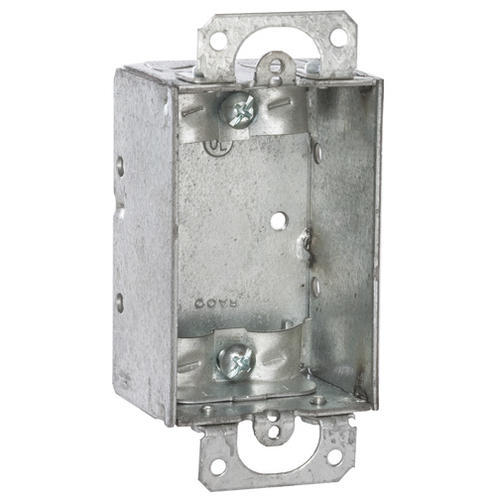 Raco 1 1 2 Galvanized Steel Switch Electrical Box At Menards