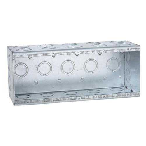 Raco 5 Gang Galvanized Steel Masonry Electrical Box At Menards