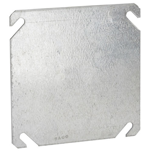 Raco 4 Steel Flat Square Blank Electrical Box Cover At Menards