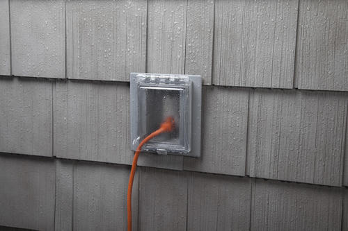 Taymac 1 Gang Non Metallic Weatherproof Recessed Box And