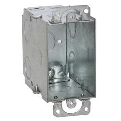 Raco 2 Galvanized Steel Switch Electrical Box