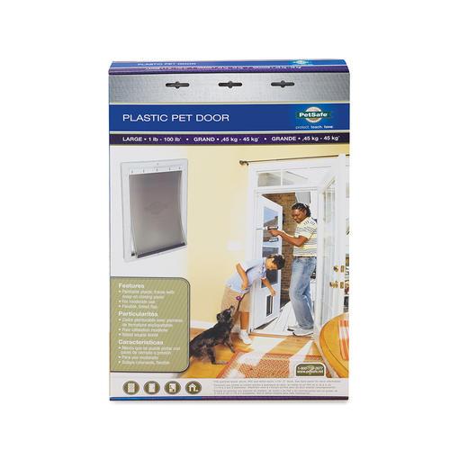 Petsafe Plastic Pet Door Small White