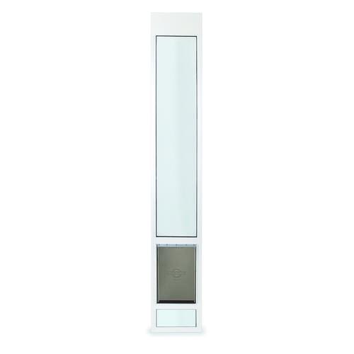 ... Patio Panel Pet Door. Model Number PPA11-13141. PetSafe® 76-3/4 -96  Adjustable Large/Tall Deluxe  sc 1 st  Menards & PetSafe® 76-3/4