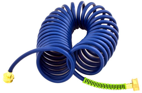 coil garden hose. Ray Padula® InfiniFlo™ 25 Foot Coil Garden Hose With Kink Shield Spring At Menards