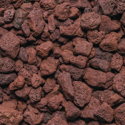 Delightful Red Lava Rock   1.0 Cu. Ft. At Menards®