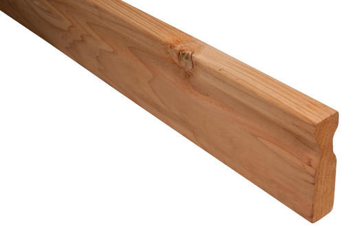Real Wood 2 x 6 x 8' Cedar Vertical Handrail at Menards®