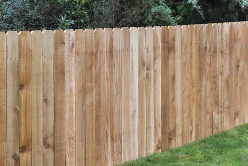 4 X 8 Cedar Dog Ear Fence Panel At Menards