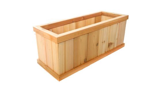 30 Cedar Deck Planter At Menards