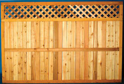 Wood Fencing at Menards®