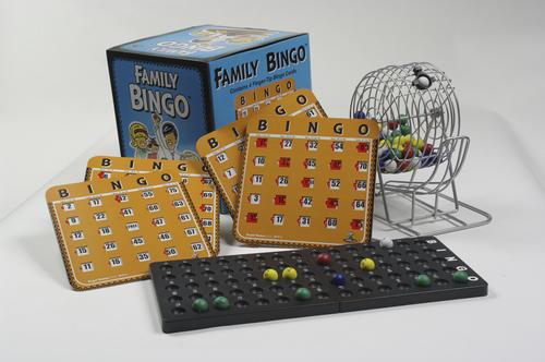 Bingo spill for barn