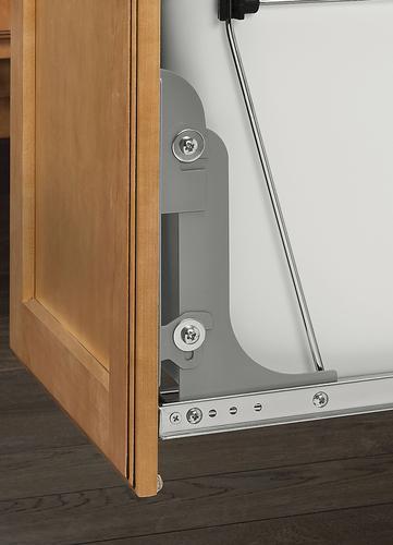 Superbe Rev A Shelf® Metallic Silver Door Mounting Kit At Menards®