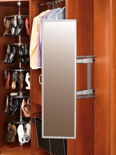 Rev A Shelf 174 Closet Pull Out Mirror At Menards 174