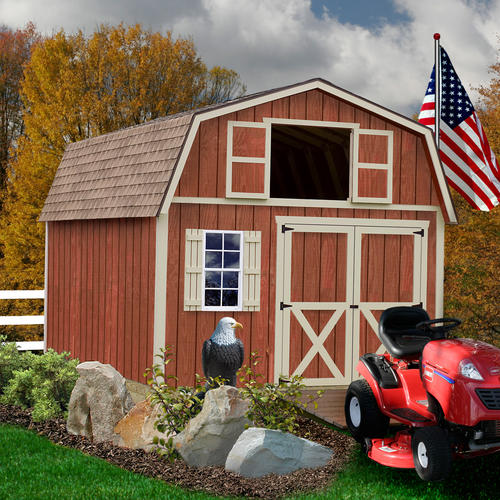 Best Barns Millcreek Barn Kit without Floor at Menards®