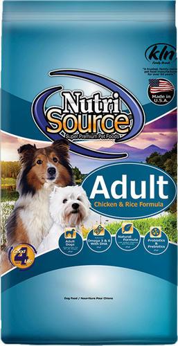 Nutrisource Chicken Rice Adult Dog Food 30 Lb At Menards