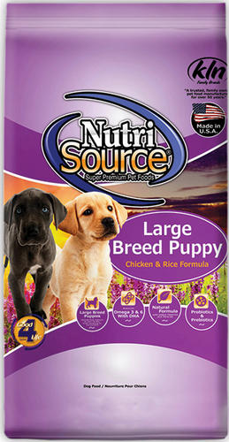 Nutrisource Puppy Chicken Rice Large Breed Dry Dog Food At Menards