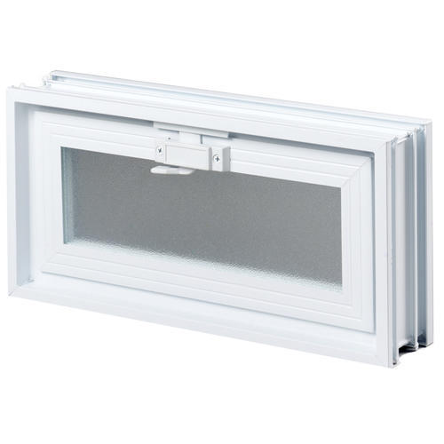 Simply Secure 30 Wide Hopper Vented Glass Block Windows At Menards