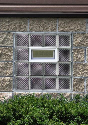 Simply Secure Diamond Pattern Vented Glass Block Windows At Menards