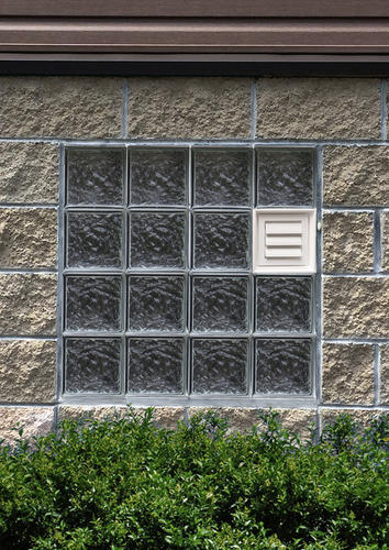 Simply Secure Ice Pattern Dryer Vented Glass Block Windows At Menards