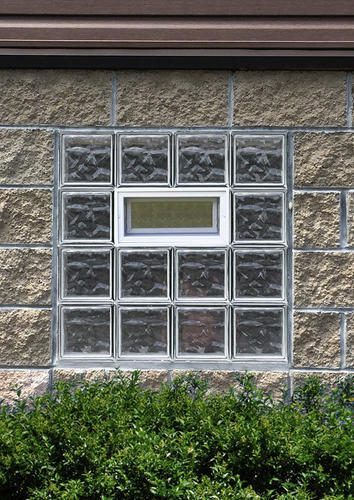 Simply Secure Wave Pattern Vented Glass Block Windows At Menards