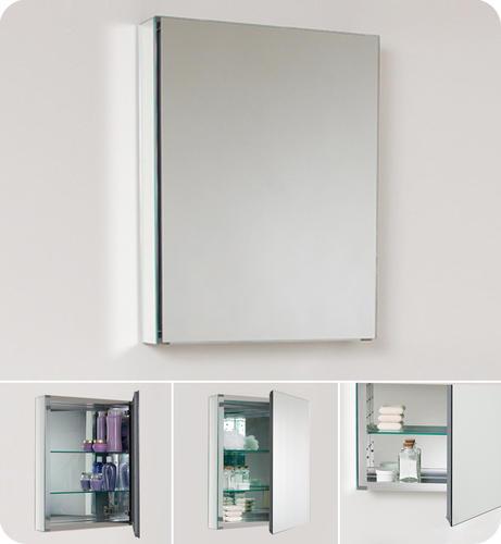 Fresca 20 W X 26 H Frameless Medicine Cabinet At Menards
