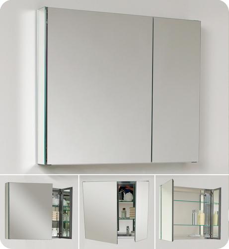 fresca medium bathroom medicine cabinet w mirrors at menards rh menards com