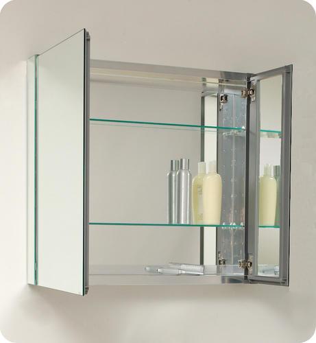 Fresca Medium Bathroom Medicine Cabinet w/ Mirrors at Menards®