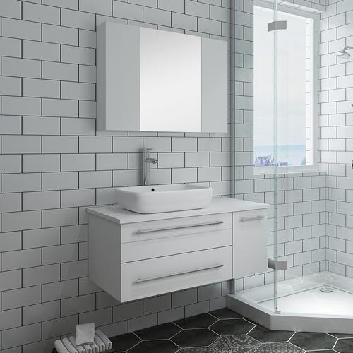 20 best bathroom quartz countertops mages on pnterest.htm fresca 36 w x 20 d white lucera vanity and vanity top with vessel  fresca 36 w x 20 d white lucera vanity