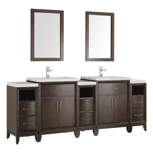 Fresca Cambridge 84 Quot Antique Coffee Double Sink