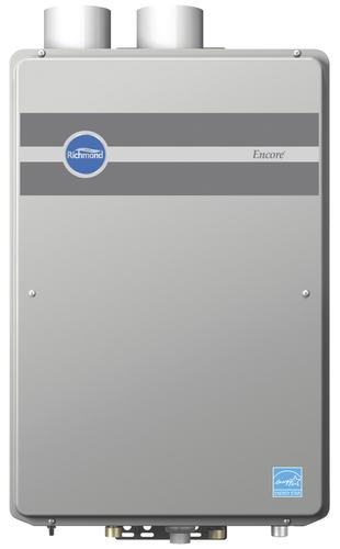 richmond® encore® 9.5 gpm natural gas indoor condensing tankless