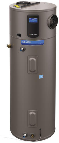 Rheem 80 gallon electric water heater suction car mount