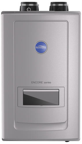 richmond® encore® 11 gpm liquid propane tankless water heater with