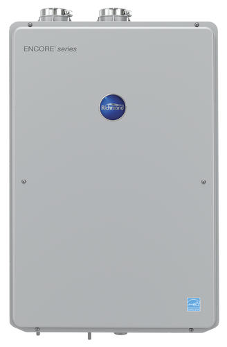 richmond® encore™ high efficiency 9.5 gpm tankless natural gas water