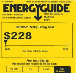 Richmond 174 Encore 174 48 Gallon Condensing Power Direct Vent 6