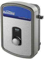 richmond essential 13 000w tankless electric water heater at menards. Black Bedroom Furniture Sets. Home Design Ideas