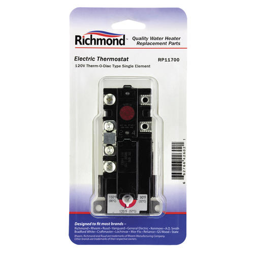 Richmond® Electric Water Heater Thermostat at Menards® on electric water heater thermostat, electric water heater troubleshooting, electric water heaters product, 240 circuit diagram, electric hot water tank wiring, water heater installation diagram, electric water boiler, heat pump water heater diagram, electric water heater wiring requirements, whirlpool electric water heater diagram, electric water heater elements, electric water heater pipe diagram, electric hot water heater wiring, hot water heater diagram, electric water wires, electric water heater design diagram, water tank wiring diagram, water heater wire diagram, electric water heater anode rod, ge water heater diagram,