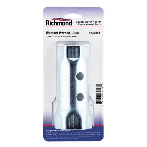richmond dual water heater element wrench at menards. Black Bedroom Furniture Sets. Home Design Ideas