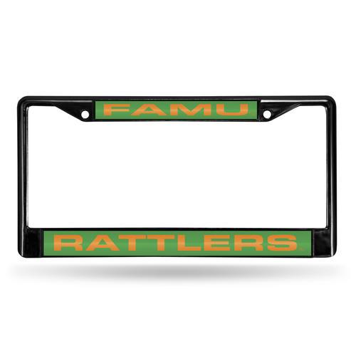 Rico Industries™ NCAA Black Laser Chrome License Plate Frame at Menards®