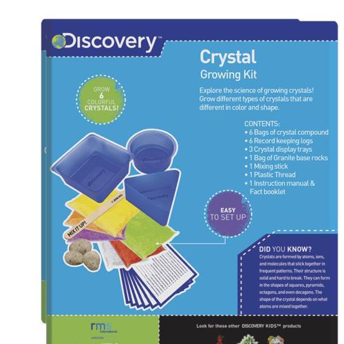Discovery Kids Crystal Growing Kit At Menards