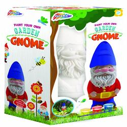 New Paint Your Own Garden Gnome Garden Crafts Arts and Crafts Set