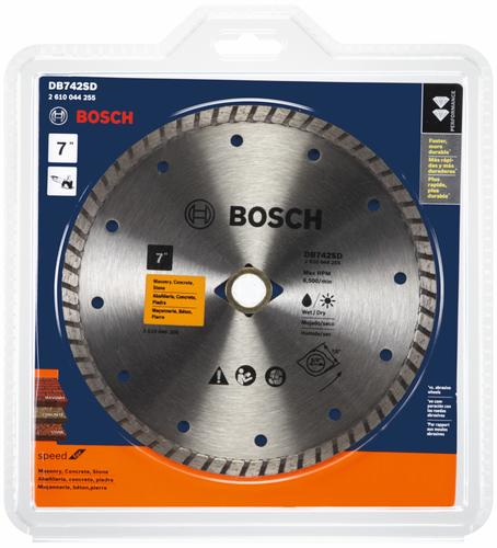 Bosch Standard Turbo Rim Diamond Blade For Smooth Cuts At Menards