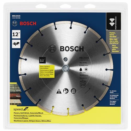 Bosch Standard Segmented Rim Diamond Blade For Universal Rough Cuts At Menards