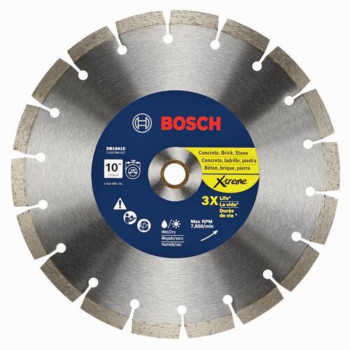 Bosch 10 Extreme Segmented Rim Diamond Blade For Masonry At Menards