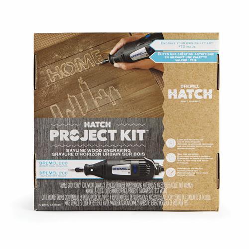 Dremel® Rotary Tool Hatch Project Kit - Skyline Wood
