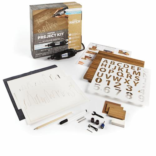 Dremel Rotary Tool Hatch Project Kit Skyline Wood