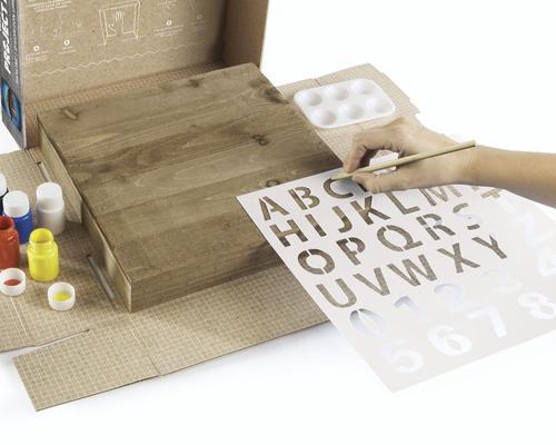 Dremel® Hatch® Skyline Pallet Art Project Kit at Menards®